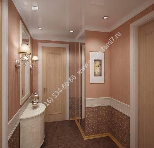 ремонт в коридоре в панельном доме фото
