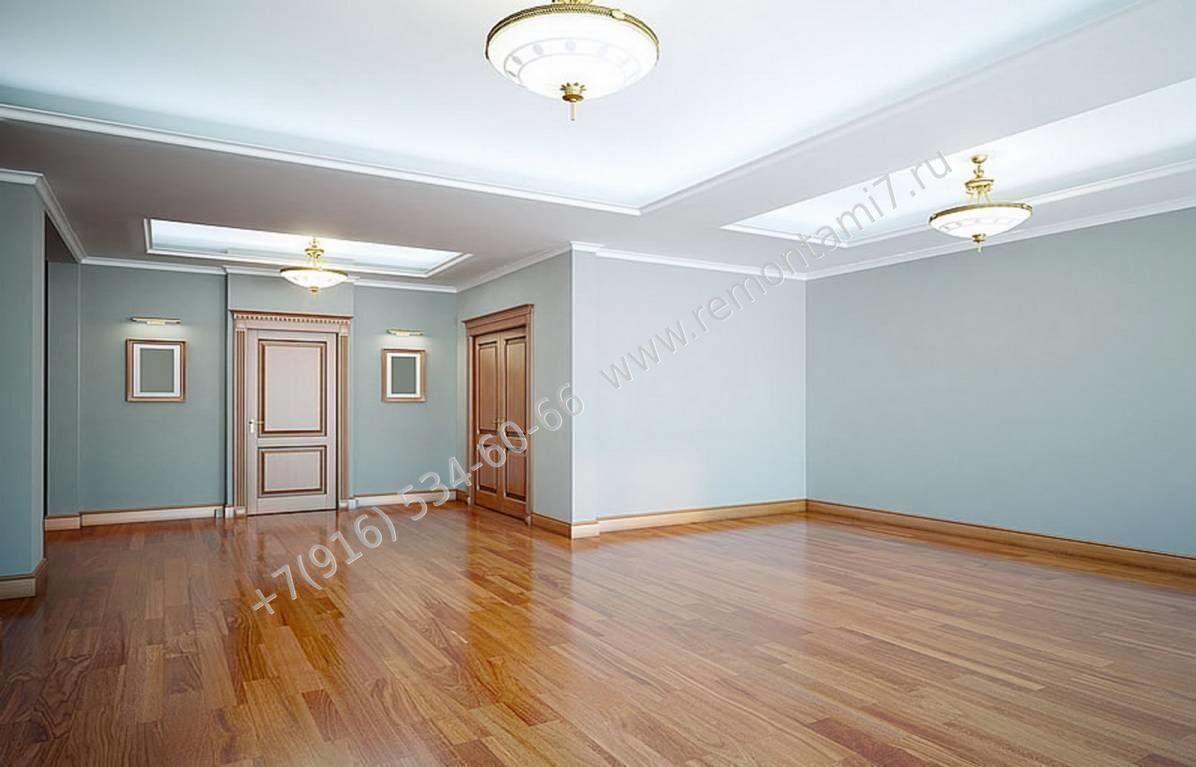 Ремонт комнат под ключ в Москве, цены и работы от