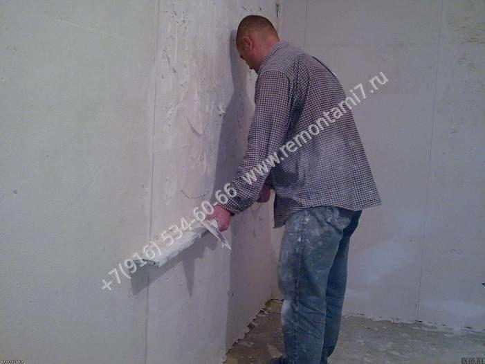 Стоимость работы по оштукатуриванию стен цементным раствором можно ли газоблок класть на цементный раствор